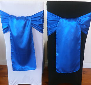 Chair Cover Hire Royal Blue Satin Sash.jpg