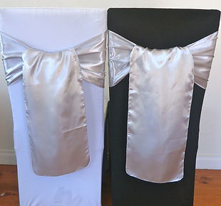 Chair Cover Hire Silver Satin Sash.jpg