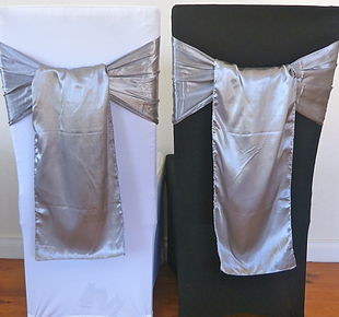 Chair Cover Hire Smoke Satin Sash.jpg