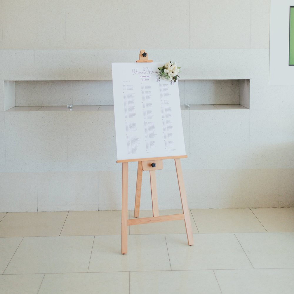 Wooden Easel for Hire