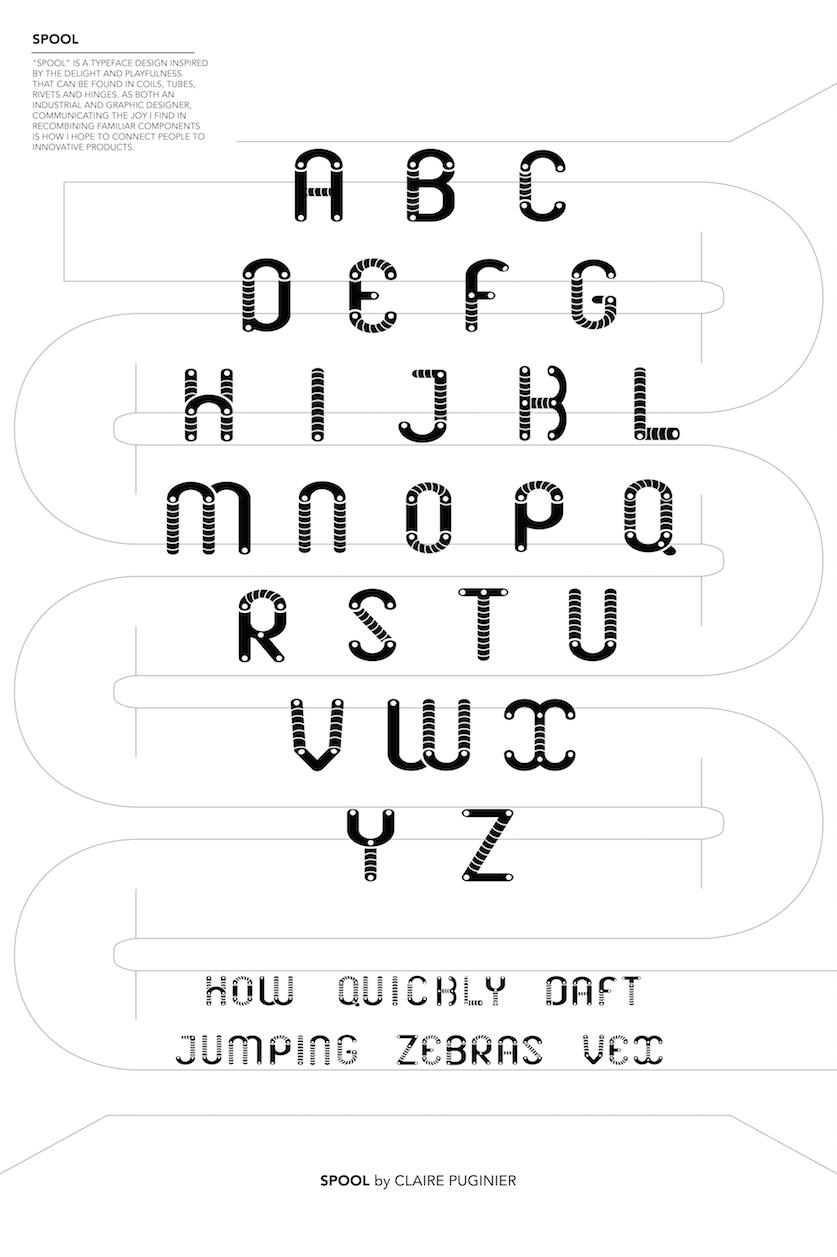 SPOOL /TYPEFACE DESIGN
