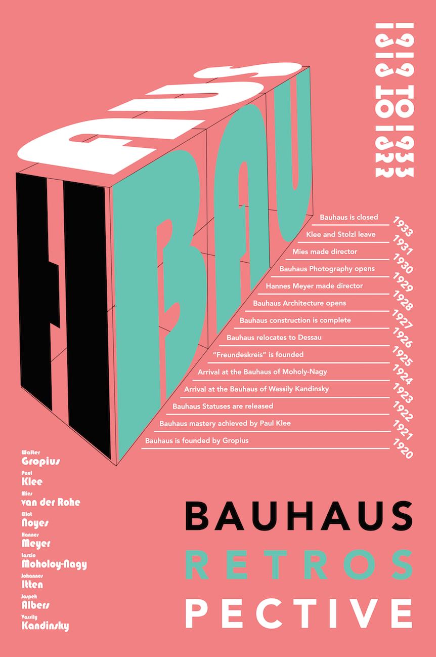 BAUHAUS RETROSPECTIVE