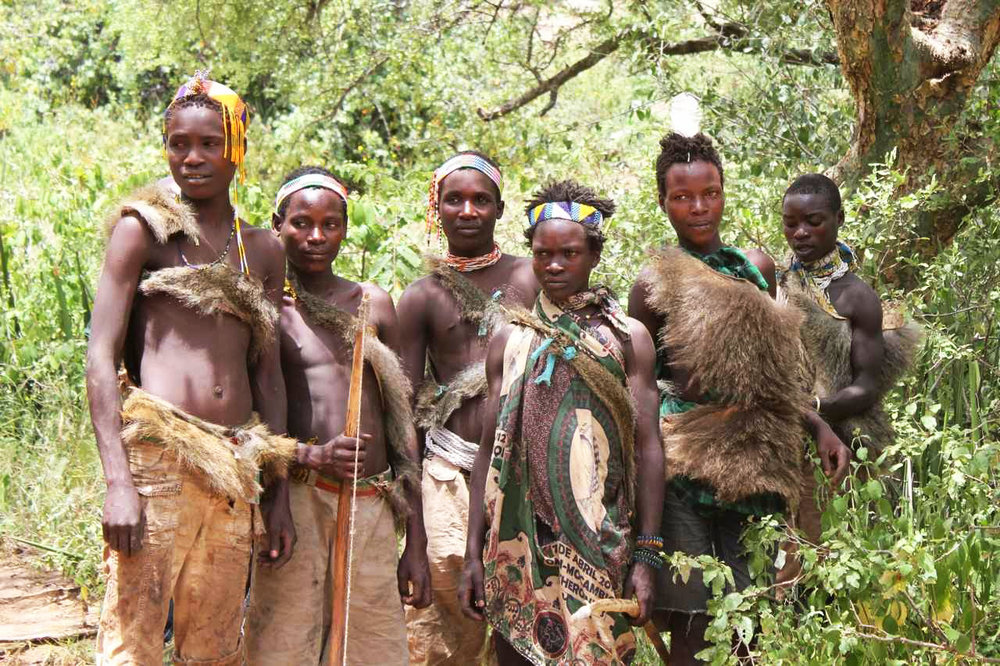 Photo source: royreuben.blogspot.com.au - The Hadza people from Tanzania
