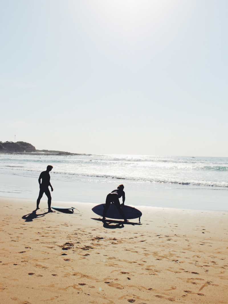 Surfers, Freshwater Beach, NSW