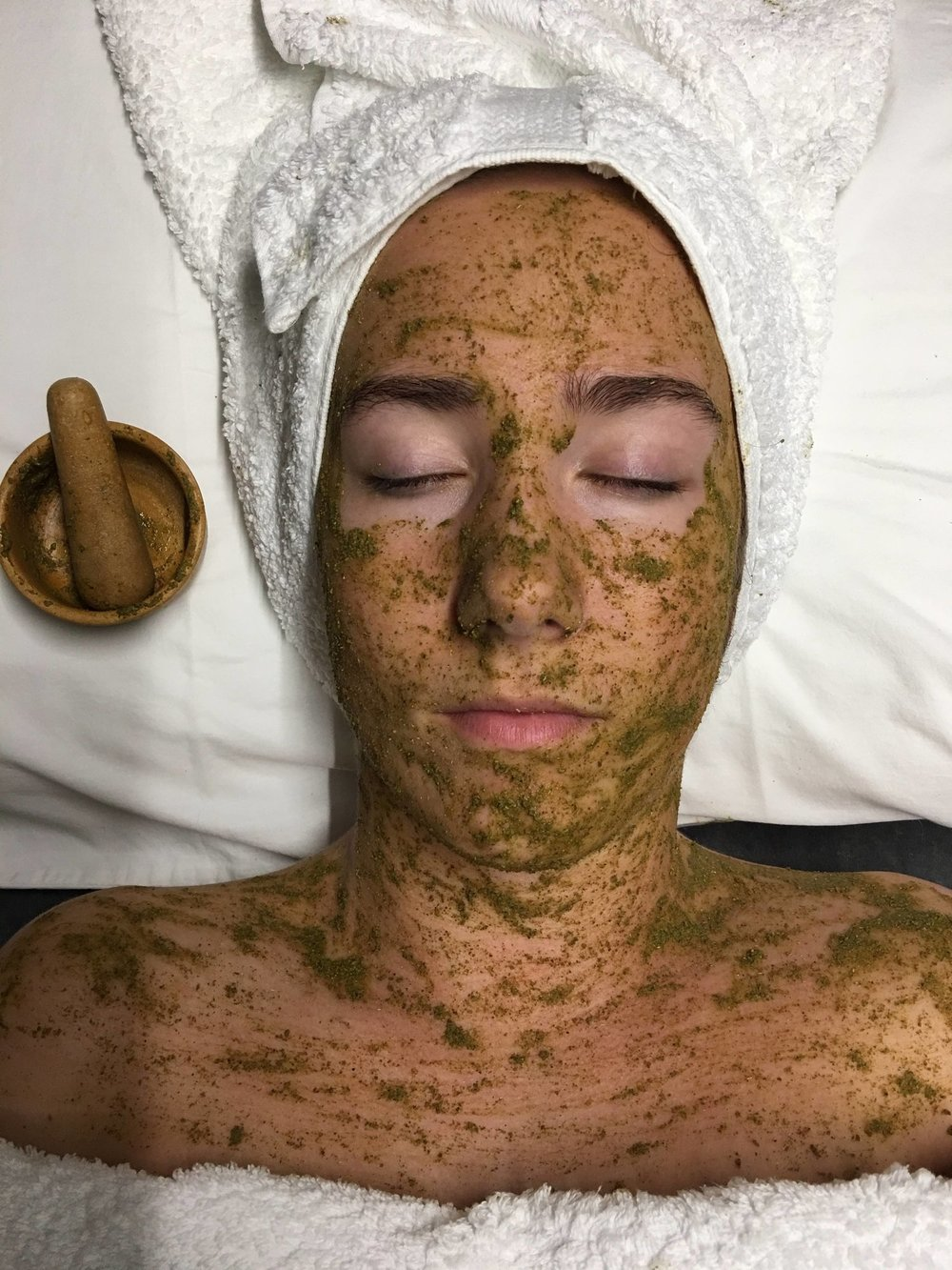 Breath in... Breath out... - You may merely enjoy the pampering and relaxation you feel when receiving a facial treatment, but there are a multitude of other benefits that offer you and your skin health and wellness.