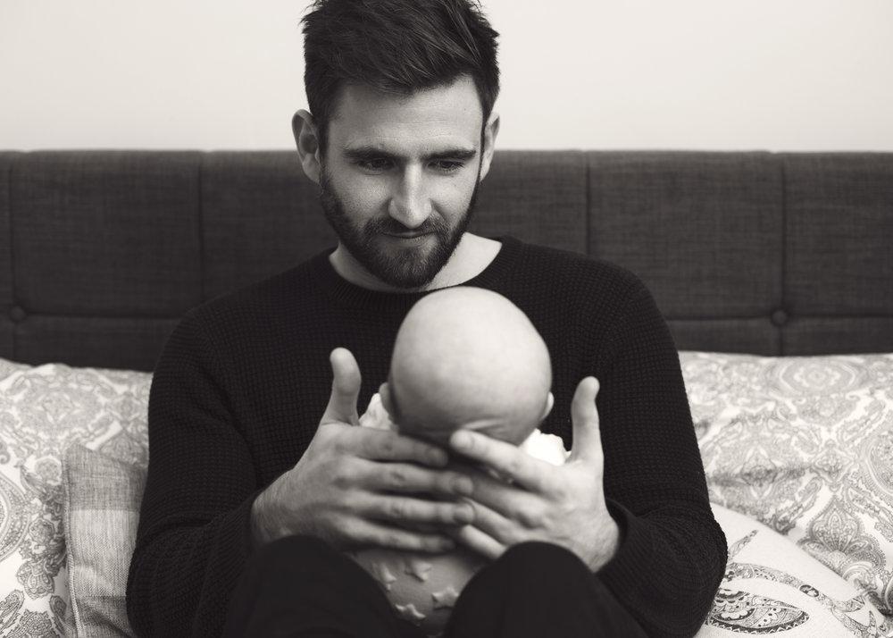 Daddy adoring Harry.