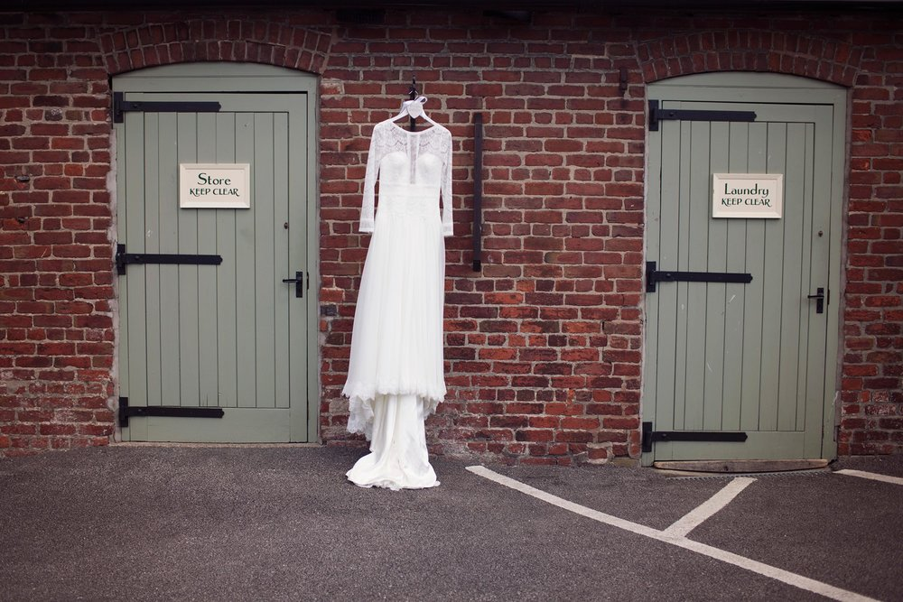 Wedding dress photographer bridal prep Leeds