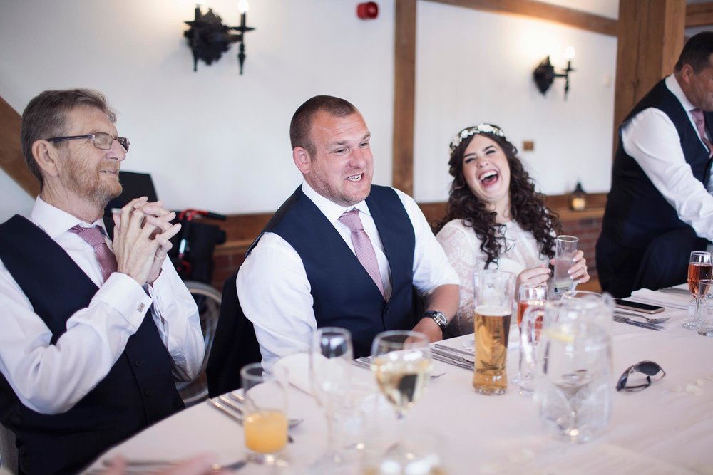 Bride and groom documentary photography cheshire wedding