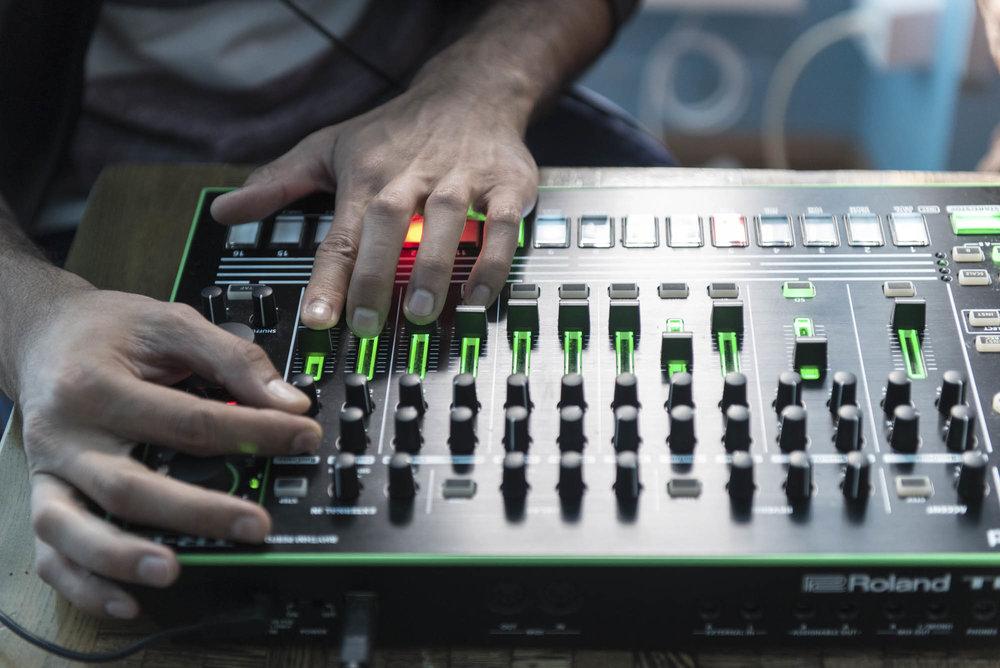 DJ's auf der Flucht