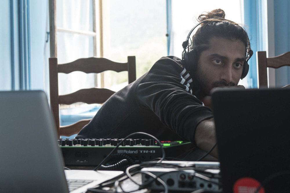 DJs auf der Flucht