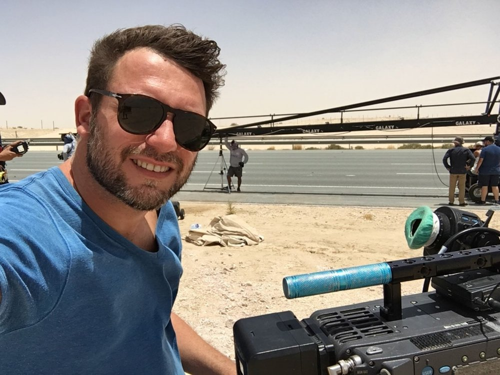 """On set TV Series """"Medinah"""" directed by Ahmed Al Baker filmed in Qatar in 2016 shot with Arri Alexa and Cooke Lenses."""
