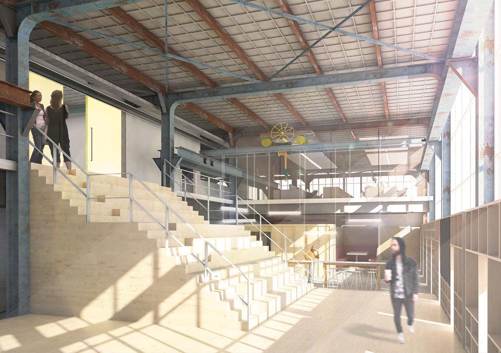 Interior of a Design Studio