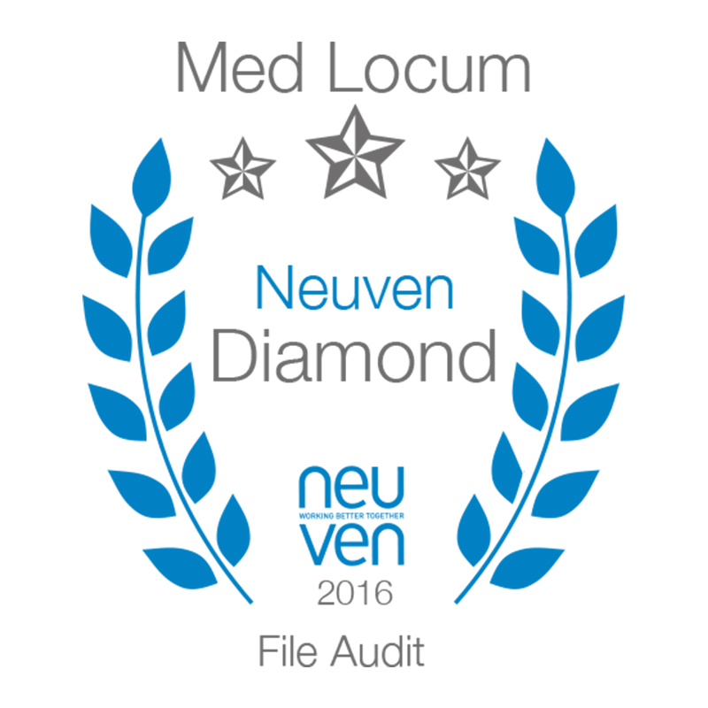 Neuven Medical Locum Audit - Diamond 99.83%