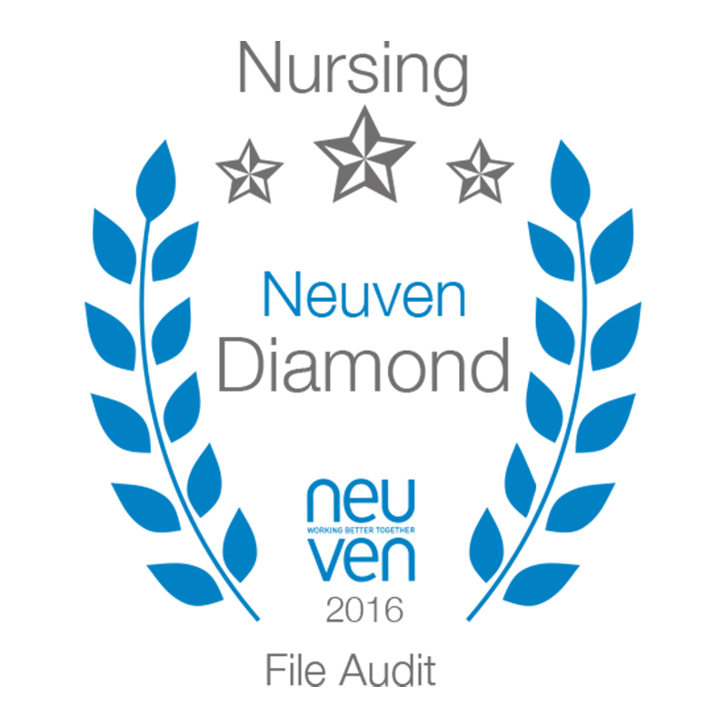 Neuven Nursing Audit - Diamond 99.74%
