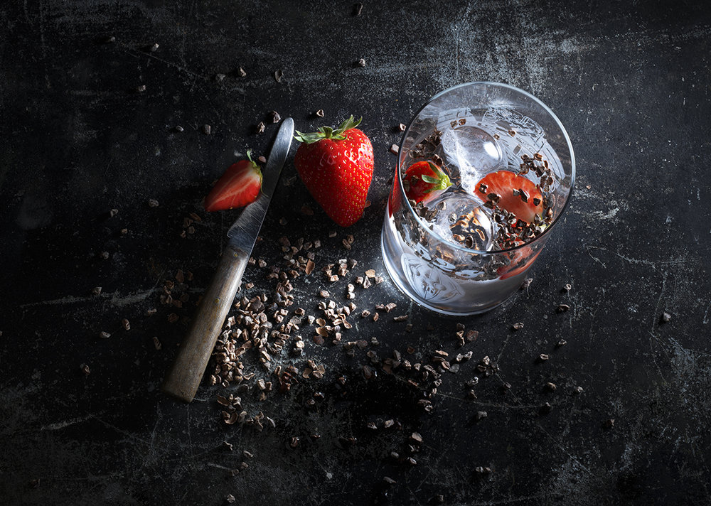 Cocoa Gin Cocktail