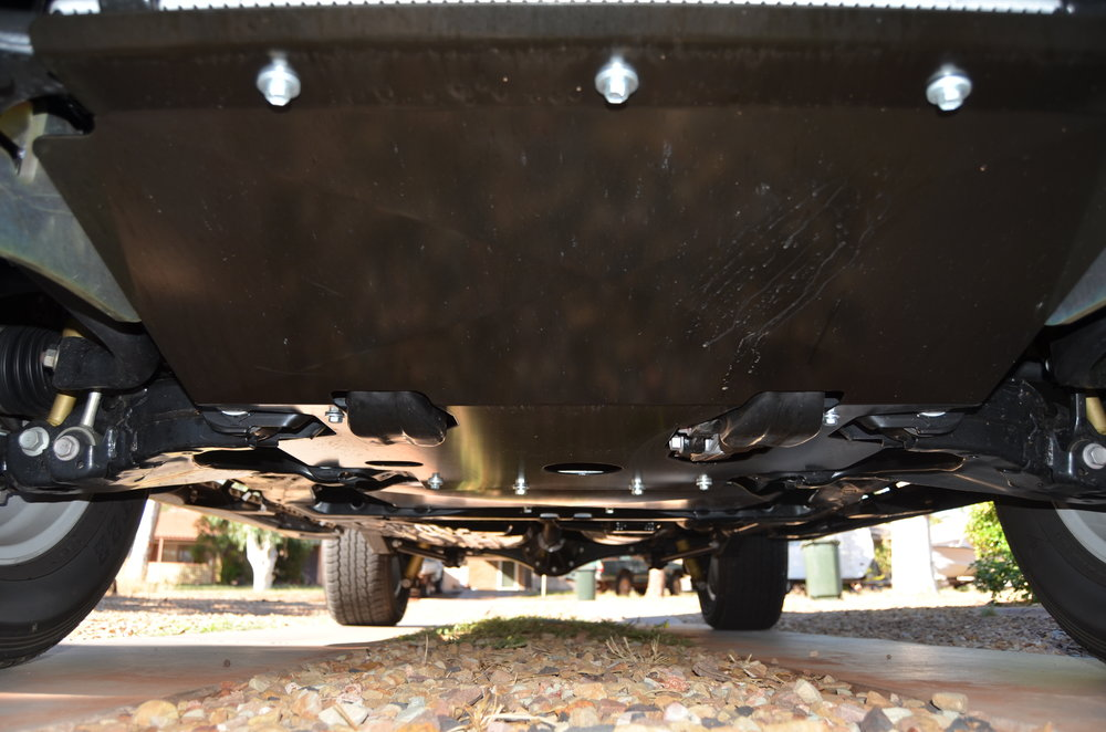 Underbody Protection   TJM 3mm Underbody protection guards against the toughest rocks and branches