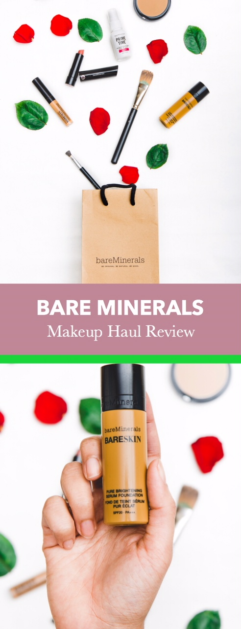 59ca43431989 Bare Minerals Makeup Haul Review — Earth and Spoon