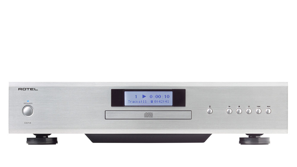 Rotel CD14 CD Player at Creative Audio in Winnipeg (Silver)