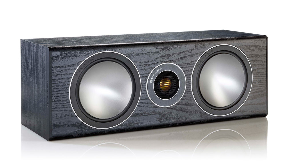 Monitor Audio Bronze Centre Speaker (Black Oak)