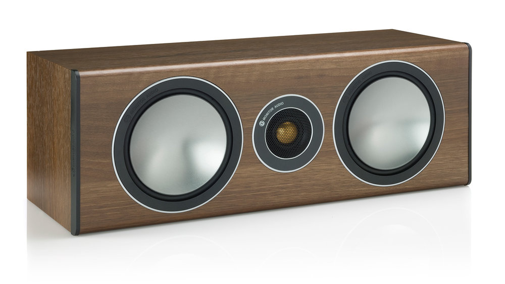 Monitor Audio Bronze Centre Speaker (Walnut)