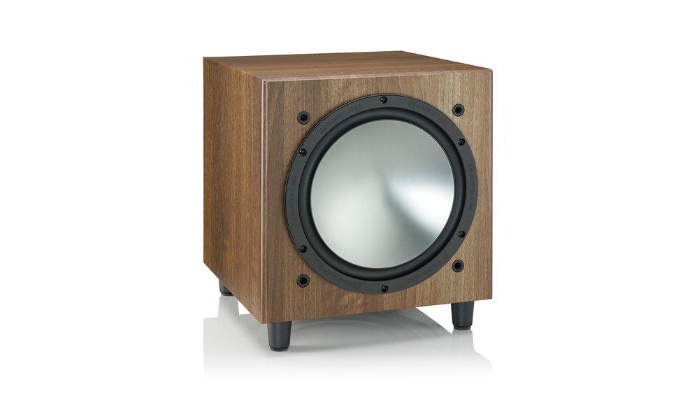 Monitor Audio Bronze W10 Subwoofer (Walnut)