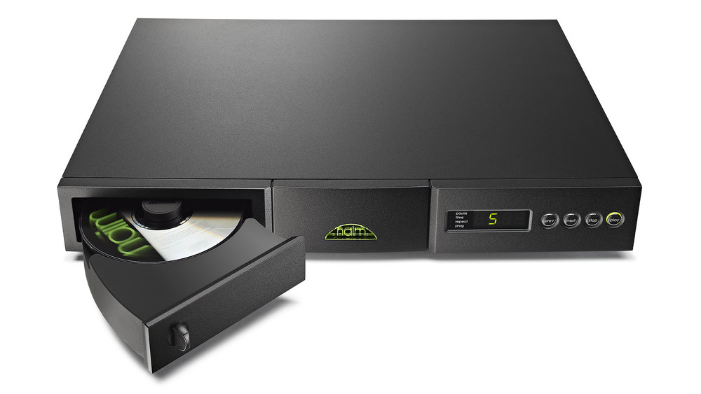Naim CD5 si CD Player in Winnipeg at Creative Audio (drawer open)