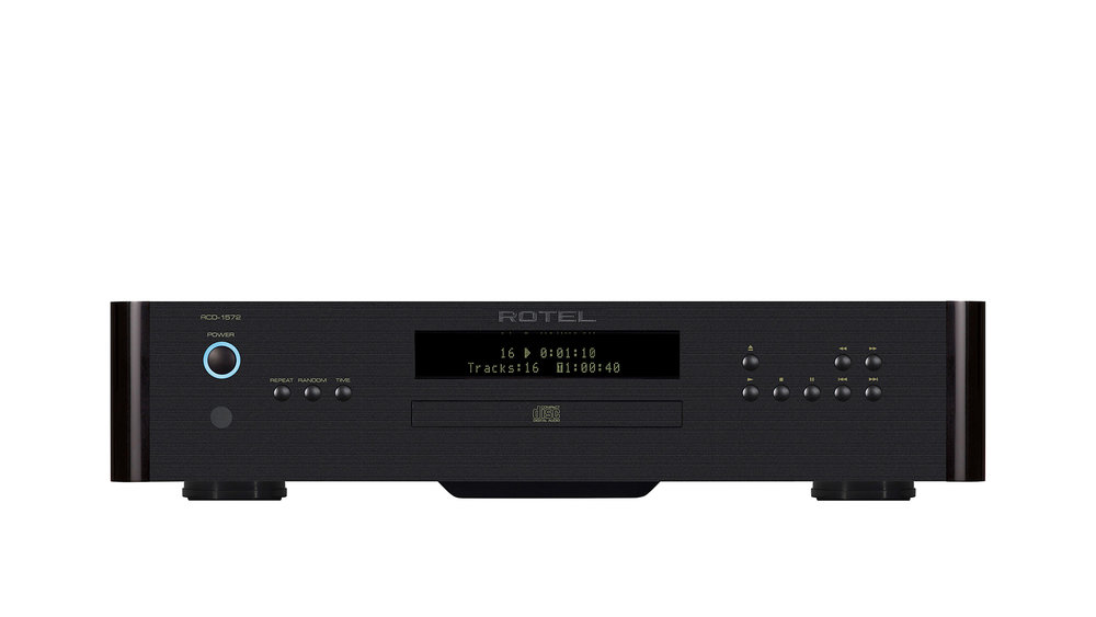 Rotel RCD-1572 CD Player at Creative Audio in Winnipeg (Black)