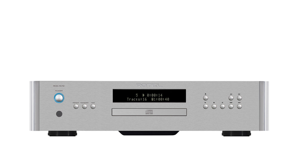 Rotel RCD-1572 CD Player at Creative Audio in Winnipeg (Silver)