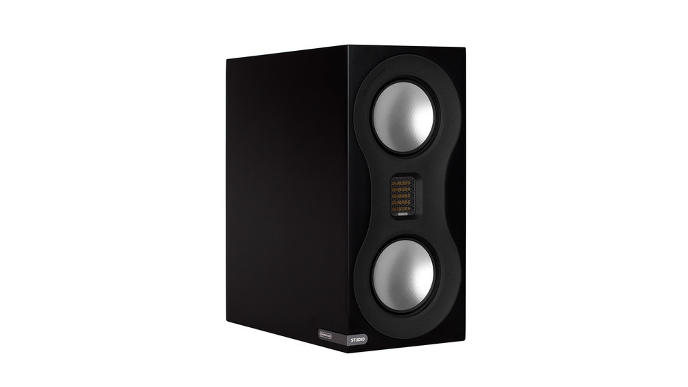 Monitor Audio Studio Bookshelf Speaker at Creative Audio in Winnipeg (Satin Black)