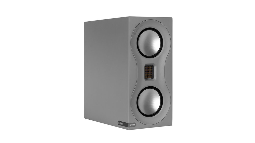 Monitor Audio Studio Bookshelf Speaker at Creative Audio in Winnipeg (Satin Grey)