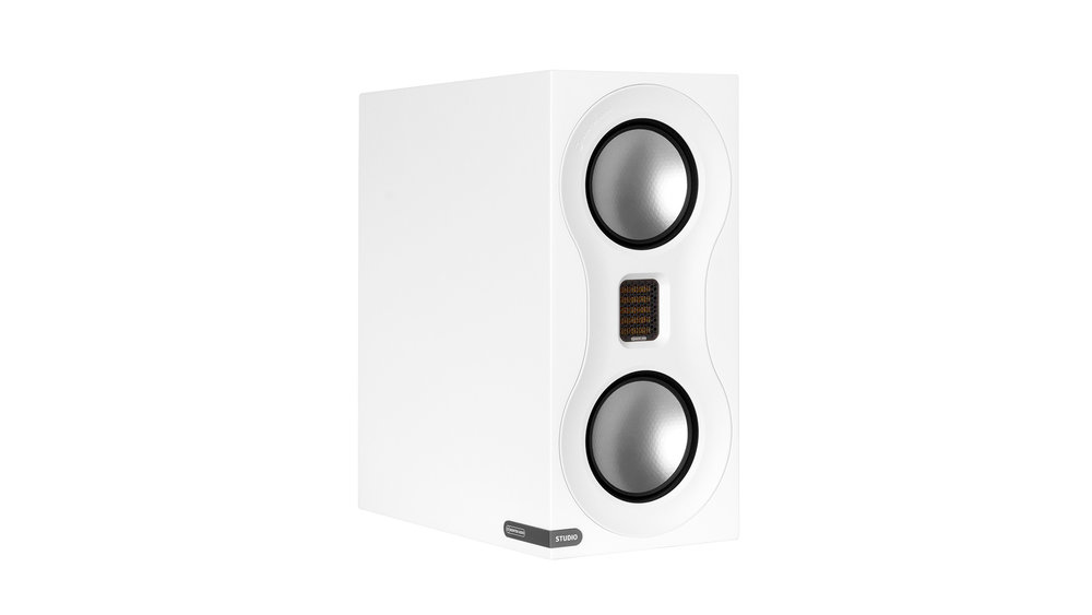 Monitor Audio Studio Bookshelf Speaker at Creative Audio in Winnipeg (Satin White)