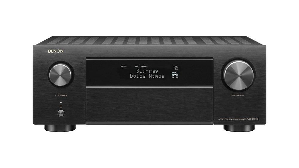 Denon AVR-X4500H AV Surround Receiver (Front) in Winnipeg at Creative Audio