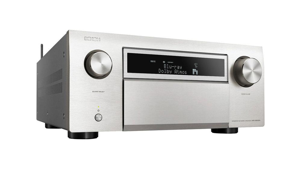 Denon AVR-X8500H AV Surround Receiver (Silver) in Winnipeg at Creative Audio