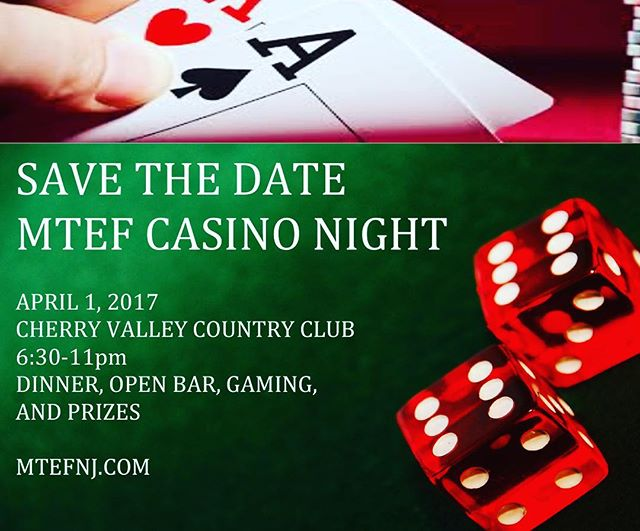 Mark your calendars for a great night to support the MTEF!
