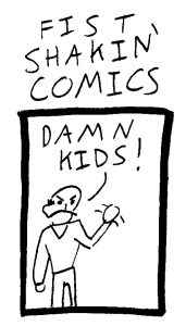 Fist Shaking Comics