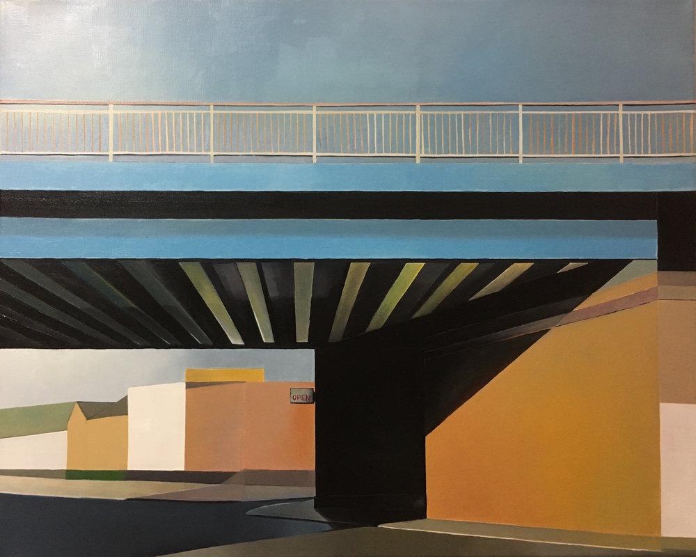 The bridge by the studio