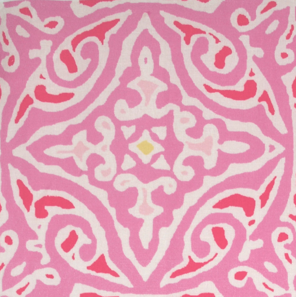 Large, Medium & Small Diamond Batik: Pink