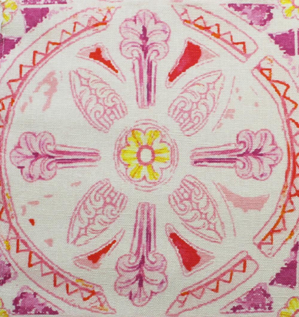 Grand Circle Batik: Pink
