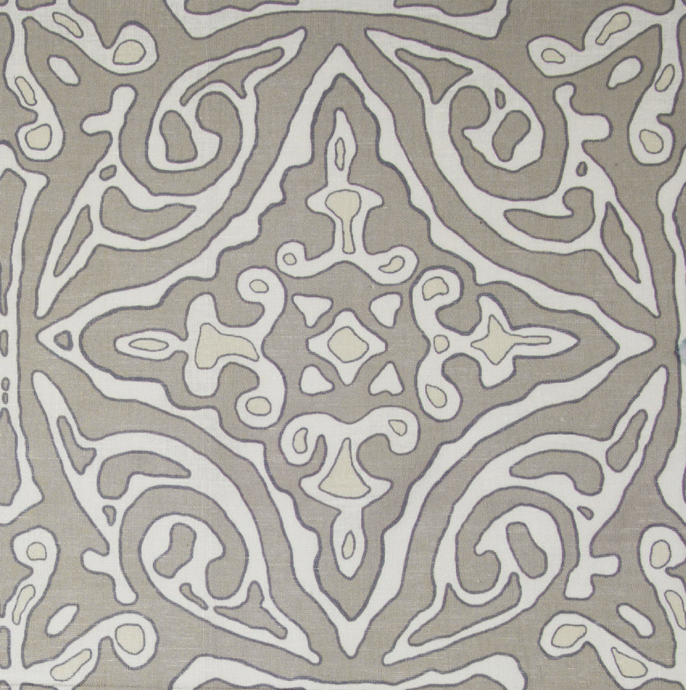 Large & Medium Diamond Batik: Grey