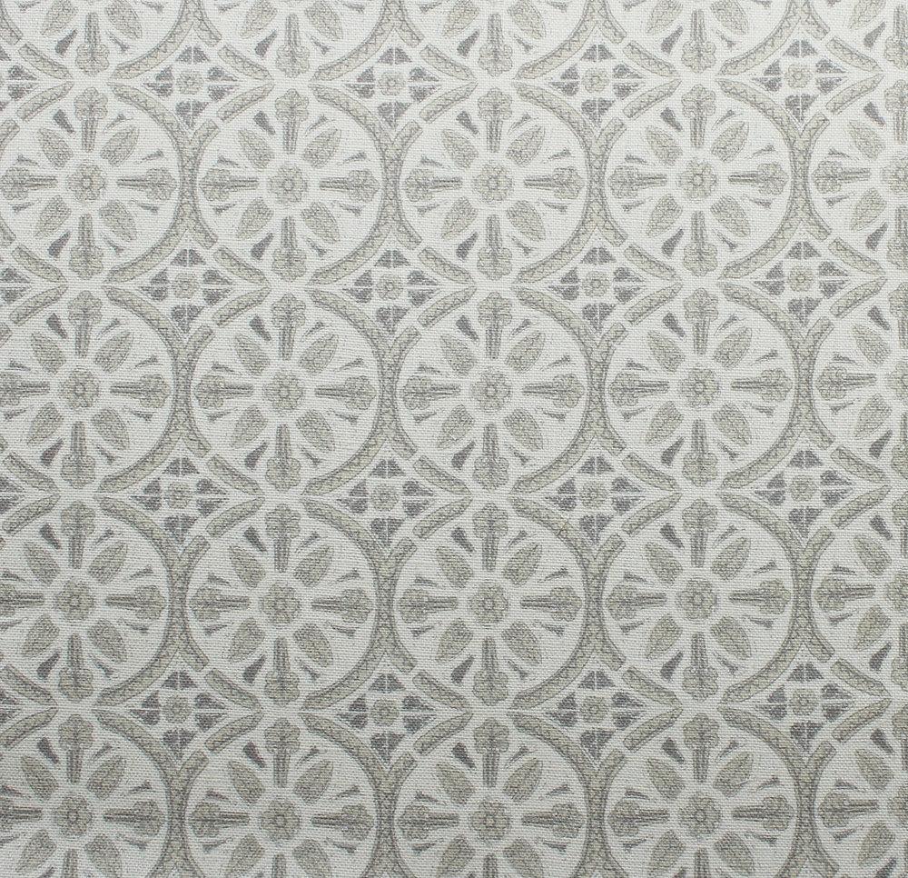 Petite Circle Batik: Grey