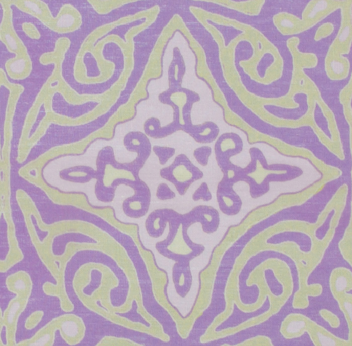 Large & Medium Diamond Batik: Lilac