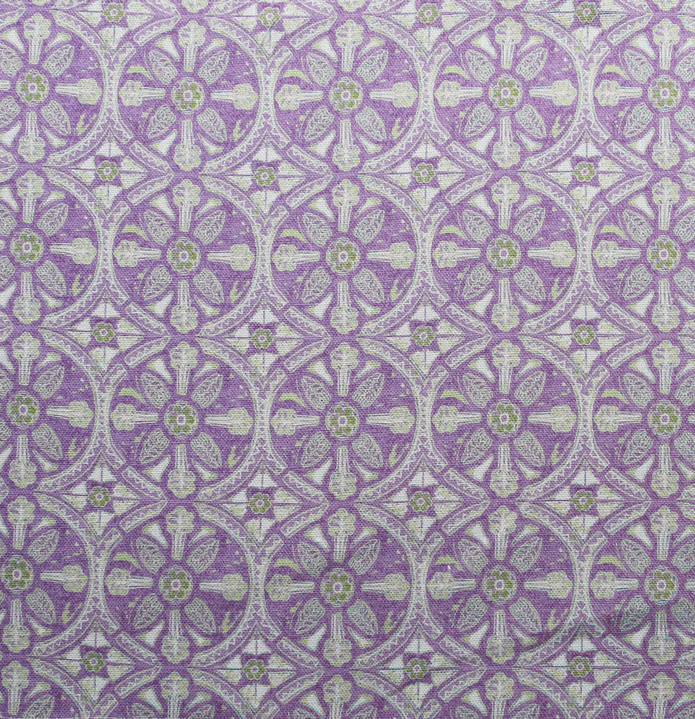 Petite Circle Batik: Lilac