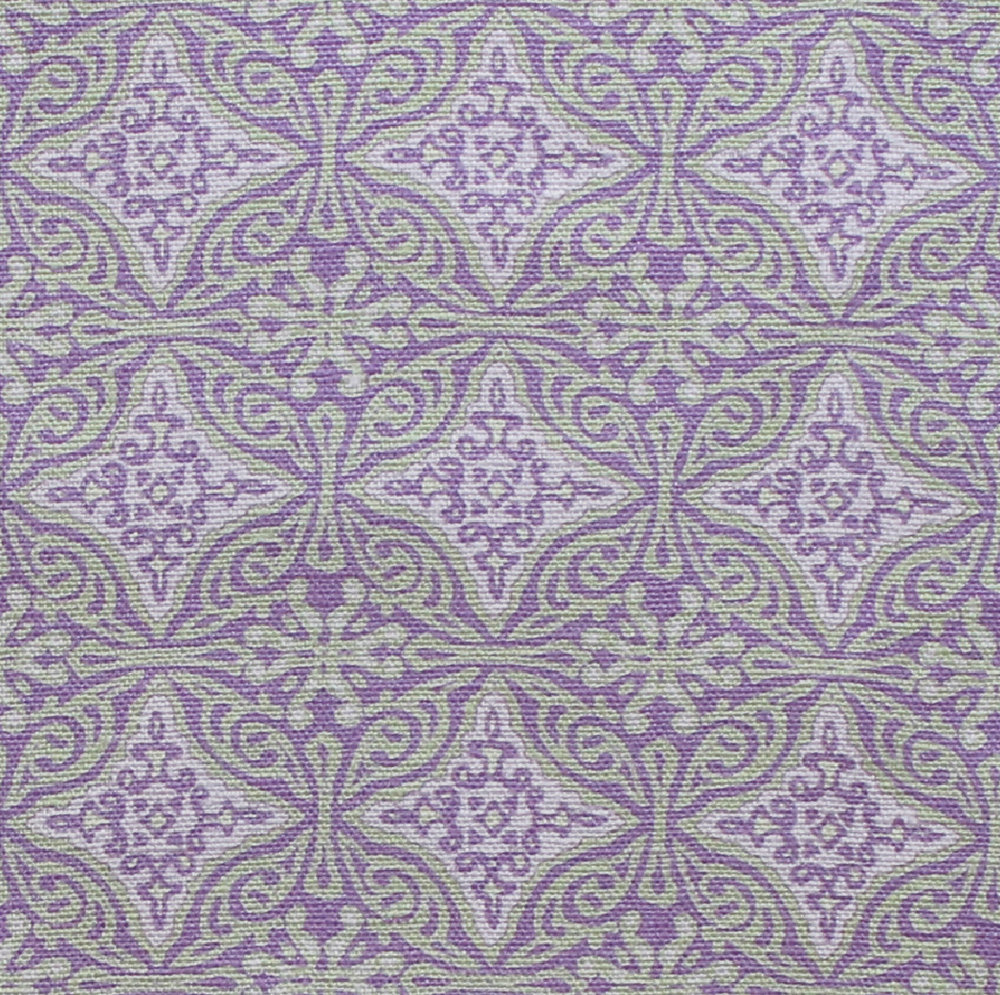 Small Diamond Batik: Lilac