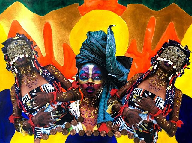 The rebirth of the divine  A glorious expansion  Wielding  Fierce  Raging  Magic A glorious  Blessed sight Awakening... ✨POWER TO THE GOD WITHIN✨ #FYFYAWOTO Artist - @jojoabot