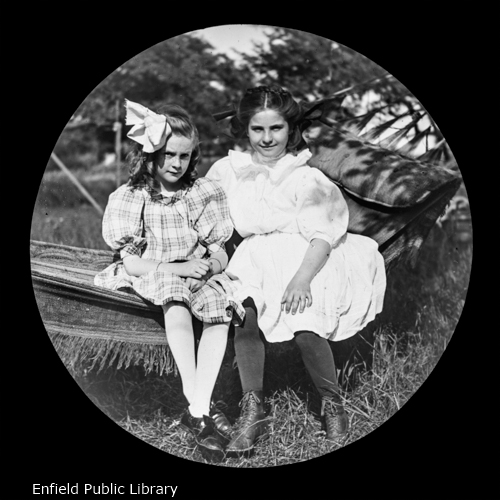 Lillian Brown and Gertrude Bissland
