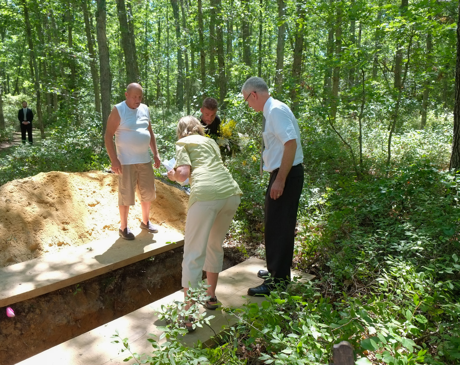 Why does grave depth matter for green burial? — Green Burial