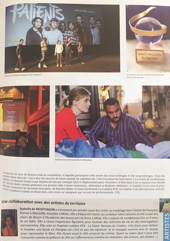 Journal Municipal d'information la Ciotat   Magazine du Festival du 1er Film Francophone