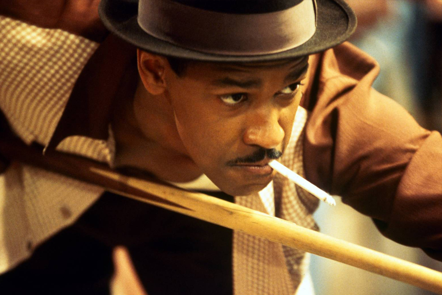 Denzel Washington plays one of the African American detectives