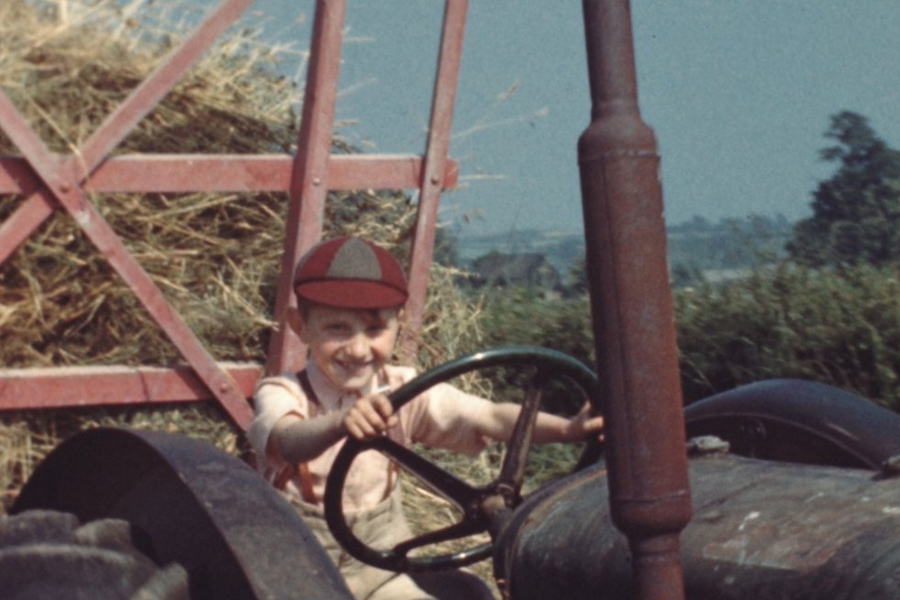 Haymaking - Trebettyn, Cowbridge (1949)