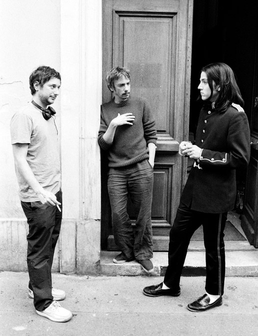 On the set Mister Lonely, Harmony Korine, Leos Carax, Diego Luna